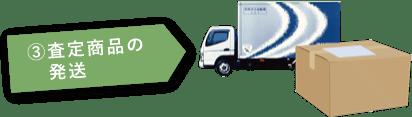 3.査定商品の発送